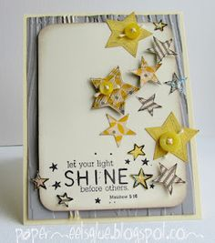 {from head to soul} march kit of the month - unity stamp company - card created by unity customer CHALLENGE WINNER Shilo