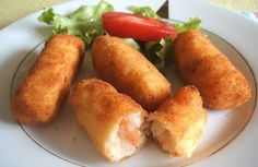 Shrimp croquettes | Food From Portugal