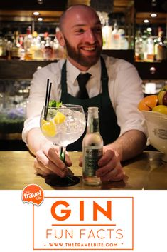 7 Things You Didn't Know About Gin!  From the history of gin, to different flavors, and other trivia, here are some fun facts you can use to impress your friends at the next cocktail party.
