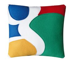 Google Pillow by Craftsquatch on Etsy, $29.00