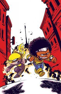 Luke Cage & Iron Fist