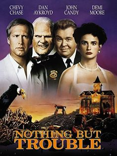 Nothing But Trouble on DVD from Warner Bros. Directed by Dan Aykroyd. Staring Demi Moore, John Candy, Dan Aykroyd and Chevy Chase. More Comedy, Classics and Movies DVDs available @ DVD Empire. Comedy Movies, Hd Movies, Movies Online, Movie Tv, Horror Movies, Streaming Vf, Streaming Movies, Movies Showing, Movies And Tv Shows