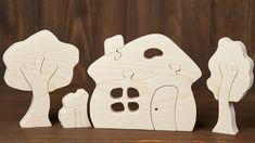 Puzzle di legno ispirato bella Waldorf. In massello di pino o abete 2-3cm / 0,7-1.18 spessore. Puzzle con fiducia stanno su una superficie piana, essi sono lisce al tatto e perfettamente sicuro! Giocando con il puzzle bambini svilupperanno competenze utili, come immaginazione, logica,