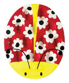 Take a look at this Ladybug Garden Deviled Egg Plate  by Boston Warehouse on #zulily today!