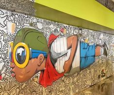 5 Chicago-based street artists you should know - pinnervo Graffiti Murals, Street Art Graffiti, Mural Art, Chicago Murals, Chicago Artists, Chicago Sculpture, African American Artwork, Graffiti Photography, Chicago Street