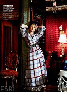 Demi for Teen Vogue in November 2013