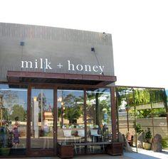 ice cream shop serving windows | milk + honey = Icy sweet relief - Food Frenzy : The Orange County ...