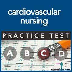 PT-Cardiovascular Nursing Practice Exam- Absolutely love the heart! Nursing Apps, Nursing Exam, Cardiac Nursing, Nursing Profession, Nursing School Tips, Nursing Notes, Surgical Nursing, Nursing Career, Nursing Schools