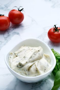 This mayonnaise is flavored with Italian seasoning and goes great with salads, omelets and Italian cold cuts like prosciutto and Parma ham.