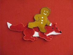 Gingerbread Man Felt Story