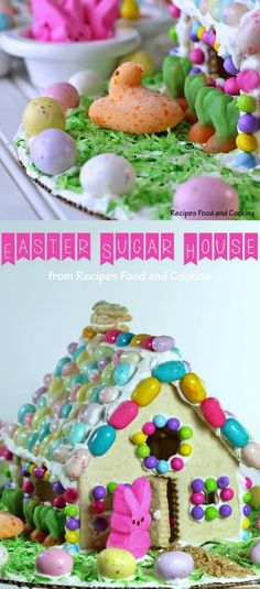 Easter Sugar House by Princess Pinky Girl