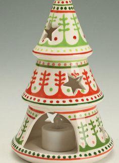Christmas Luminary Star Tree comes w/ Battery Powered Tea