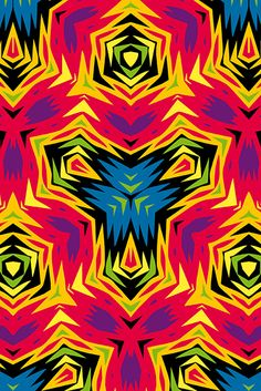 multicolored action collection | pattern | © wagner campelo