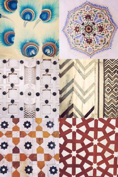 wanderlust.drifted: patterns of india