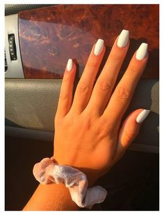 Acrylic Nails Coffin Short, Simple Acrylic Nails, Square Acrylic Nails, Summer Acrylic Nails, Best Acrylic Nails, Acrylic Nail Designs, Acrylic Nail Art, Coffin Nails, Summer Nails
