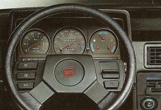 SEAT Ibiza SXI Mk1 dashboard.