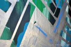 Hometalk :: Painted Herringbone Artwork/Wall Art