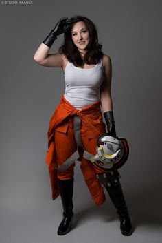 Rebel Pilot Pinup Cosplay : The force is strong with Missy who looks amazing in her Star Wars pinup inspired Rebel Pilot photoshoot!