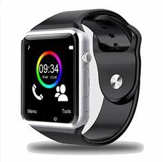 cool Smart Watch C01 Choigle Bluetooth elegante reloj muñeca reloj teléfono adecuado para móvil(Todos funcionse) Android, para Iphone (funciones parciales)