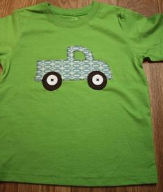 lots of cute applique ideas for boys