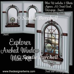 Explorer Arched Window Mini Kit : The Designer Twins ...where creativity encounters quality and value