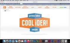 Award design website