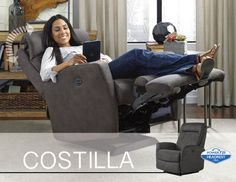 We've added a new feature to our ever popular Costilla recliner that will elevate your comfort to the head of the class!