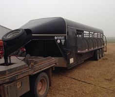 Ranchworldads Trailers >> Gooseneck Brand Cattle Trailer For Sale For More Information