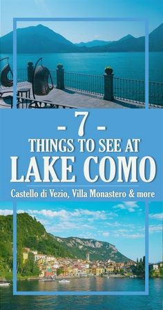Wondering why Lake Como in Italy is so famous? Read this Lake Como travel guide and find out the top things to see before you visit! #ItalyTravel