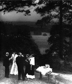 Bill Brandt - Cocktails in a Surrey Garden, 1935.