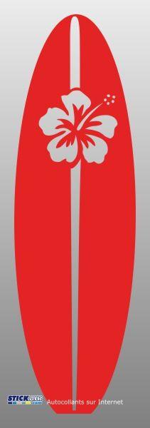 sticker Planche de surf