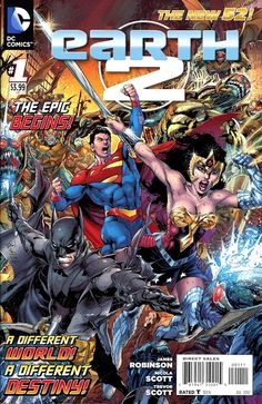 Earth 52   DC New 52: Earth 2, #1