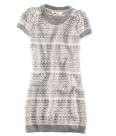 Fair Isle Sweater Dress H US