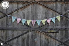 Zdjęcie: Kolorowa Girlanda - Pokój dziecka - Styl Skandynawski - Drewnolot