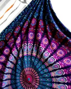 Bedspreads – Boho Hippie Tapestry / Bed Throw /Hanging Art – a unique product by IndianCraftPalace on DaWanda
