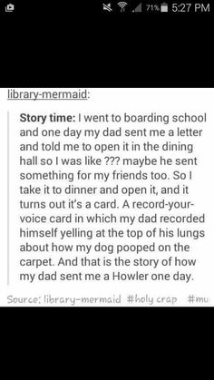 I would do this to my future kids<<<we all would. but I'd pretend that my kid was acctually a witch of wizard and left a potion lying around and turned they're younger sibling into some kind of animal.