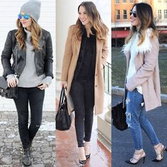 {some favorite looks from january, which is your favorite?} #winterstyle #ootd #styleblogger.... @liketoknow.it www.liketk.it/QBhm #liketkit