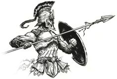Hoplite by CaesarsNail on @DeviantArt