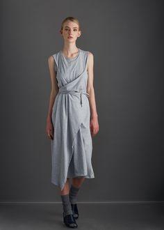 kowtow - 100% certified fair trade organic cotton clothing - volute dress