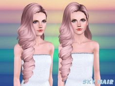 Hairstyle 244 set by Skysims by The Sims Resource for Sims 3 - Sims Hairs - http://simshairs.com/hairstyle-244-set-by-skysims-by-the-sims-resource/