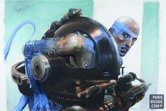 Enki Bilal au Musée des arts et métiers : l'homme, la bête et la machine