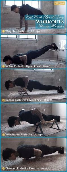 100 Push Ups Every Day You Will Get Strong Muscles. Obesity Definition 100 Push Ups Every Day You Will Get Strong Muscles. Obesity Definition JoN SnOw Exercice […] fitness tips Fitness Workouts, Fitness Motivation, At Home Workouts, Sport Motivation, Body Workouts, Workout Tips, Motivation Quotes, Push Up Workout, Lifting Motivation