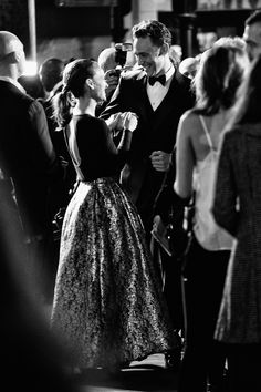 Tom Hiddleston and Natalie Portman (Loki and Jane Foster) greet each other at the Thor: The Dark World premiere in London.