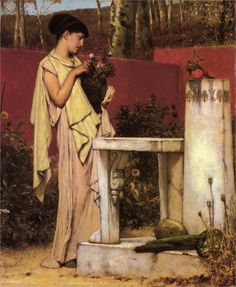 Pottery Painting - Sir Lawrence Alma-Tadema - WikiArt.org