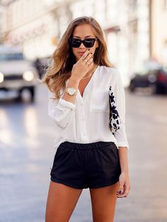 Fashion Fix: Witte blouse