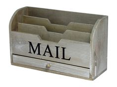 Vintage Mail File : Decorative Accents. Find all room accents and home accessories in one place. Urban Barn has hundreds of ideas  to compliment your decor.
