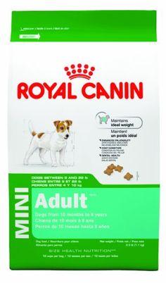 Royal Canin 14-Pound Adult Dry Dog Food, Mini $33.37 (save $7.90)