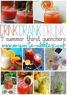 9 summer thirst quenchers to keep you hydrated as the temperature rises | Anyonita Nibbles