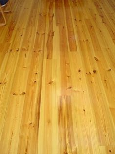 New Heart Pine with antique walnut stain
