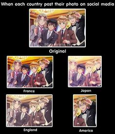Oh wow America XD --> he actually let half England be in the picture, I see that as a sign^^-->USUK FO LIFE Hetalia Funny, Hetalia Axis Powers, Usuk, Manga, Anime Shows, Memes, Otaku, Fandoms, Fan Art